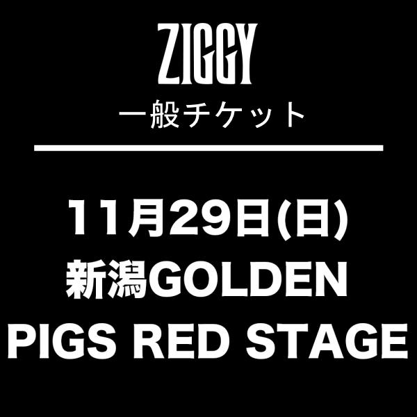 【一般チケット】ZIGGY TOUR2020「EXISTENCE PROOF」11月29日(日)新潟GOLDEN PIGS RED STAGE