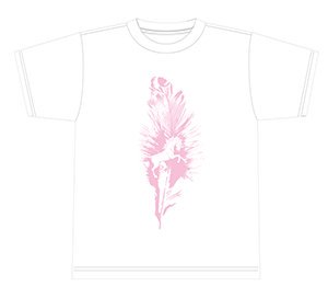 KEEL T-SHIRTS WHITE BODY【カラー:WHITE×PINK】