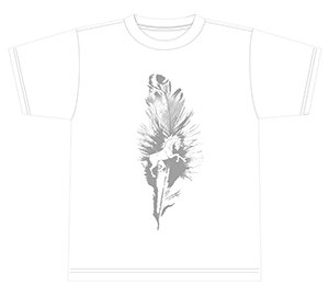 KEEL T-SHIRTS WHITE BODY