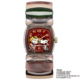 SNOOPY WATCH CANDY GRAY/EM MULTI