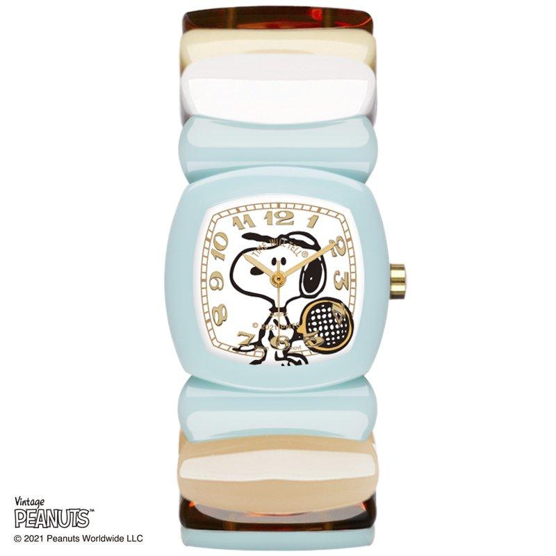 SnoopyWatch</br>BabyBlue/WH Multi