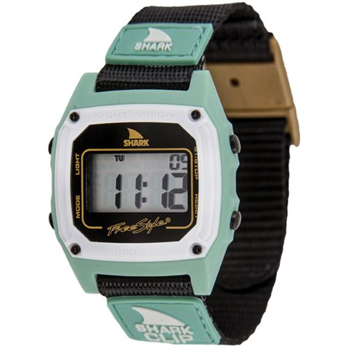 �ե꡼�������� Shark by Freestyle Shark Clip Watch, Gold/Black