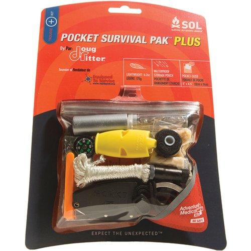 アドベンチャーメディカル SOL Pocket Survival Pak Plus