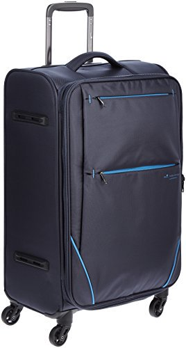 [ヒデオワカマツ] スーツケース フライII 超軽量ソフトキャリー 容量48.5(54)L 縦サイズ65.5cm 重量2.6kg 85-76012 2 ネイビー ネイ…