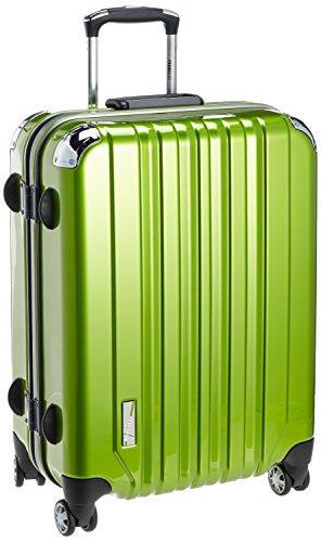 [トラベリスト] スーツケース トラスト フレームハード 容量61L 縦サイズ57.5cm 重量4.4kg 76-20007 7 ライム ラ…