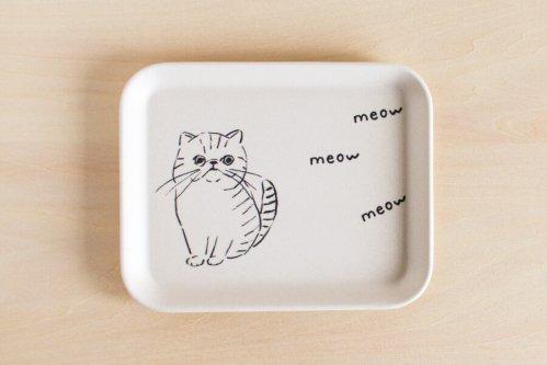 Cat トレイ S・スクエア