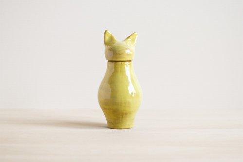 Cat Urn | ゴールド