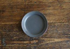ドットリム皿Sサイズ(黒マット)