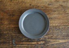 ドットリム皿Mサイズ(黒マット)