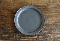 ドットリム皿Lサイズ(黒マット)