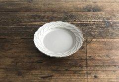 リースリム 葉皿(ライトグレー)