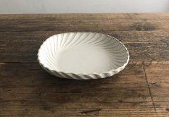 角丸スパイラル鉢(ライトグレー)