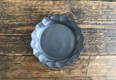 蓮花皿(黒マット)