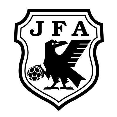 japan football old logo logo stickers 10 5 x 12 cm ステッカー