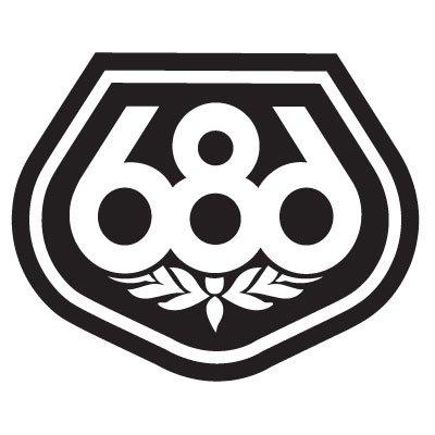 686 Logo Stickers 163 X 131 Cm