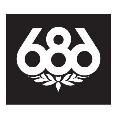 686 Logo Stickers