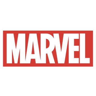 Marvel logo stickers 15 x 6 cm ステッカー、カッティングステッカー、