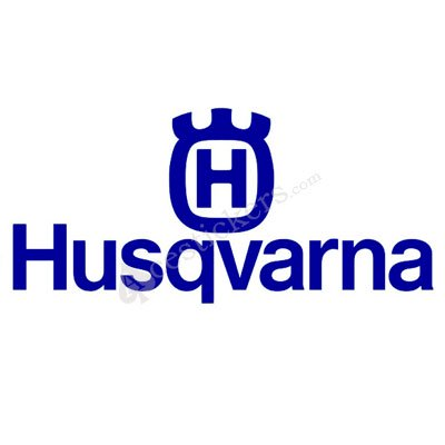 Husqvarna logo, logotype. All logos, emblems, brands pictures gallery.
