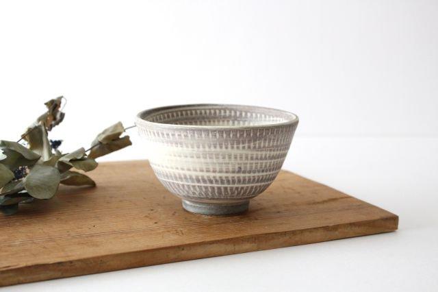 飯碗 うずまきマット 陶器 翁明窯元 小石原焼