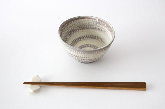 飯碗 うずまきマット 陶器 翁明窯元 小石原焼 画像4