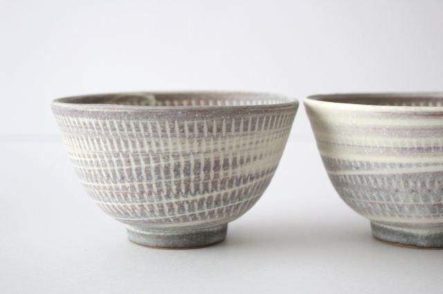 飯碗 うずまきマット 陶器 翁明窯元 小石原焼 画像6