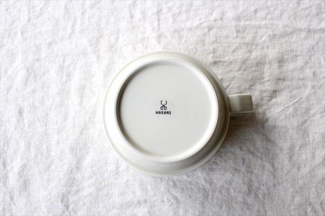 波佐見焼 HASAMI SEASON 01 ブロックマグ・スープ ホワイト 磁器 画像5