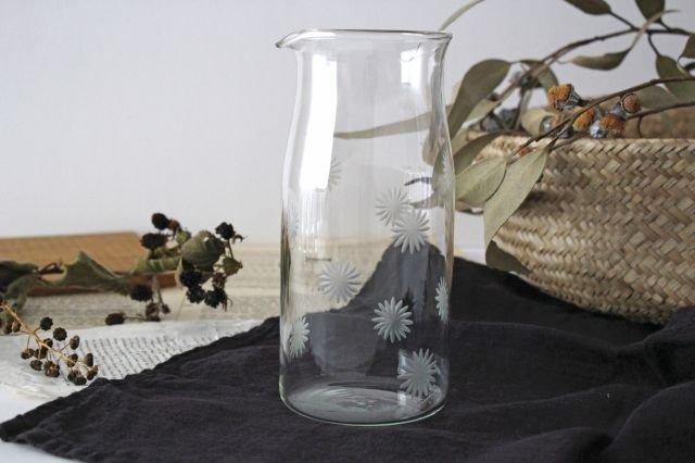 KIRIKOピッチャー 花 ガラス atelierALI-BAB山口未来 画像6