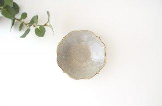 輪花小鉢 墨入貫入 陶器 はなクラフト商品画像