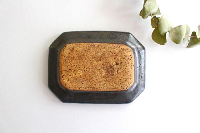 ブロンズ 八角皿 S 陶器 レジーナ 画像5