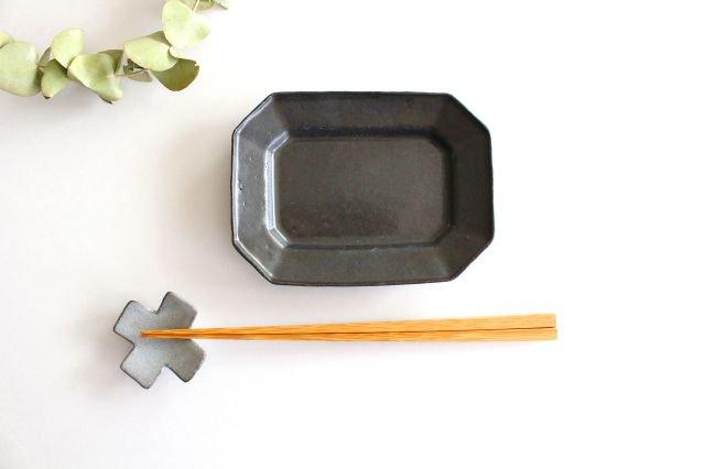 ブロンズ 八角皿 S 陶器 レジーナ 画像6