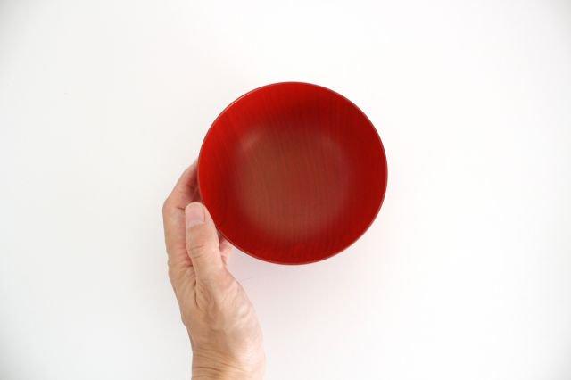 お椀や うちだ 色拭き漆椀 赤 中川政七商店 画像6