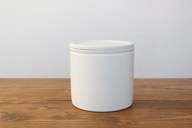 味噌壺 白 陶器 中川政七商店