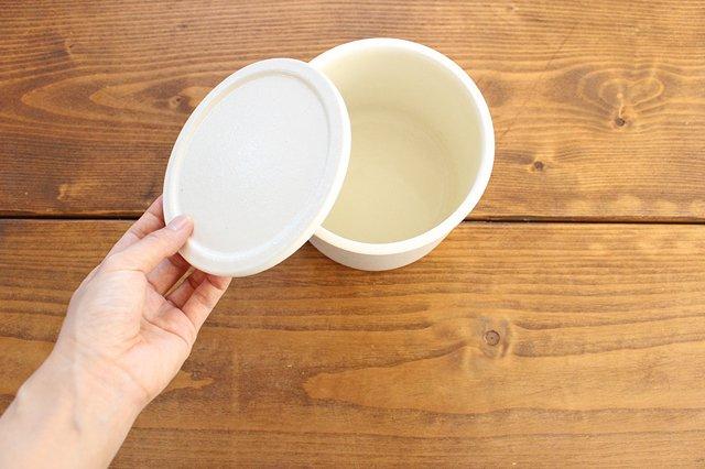 味噌壺 白 陶器 中川政七商店 画像2