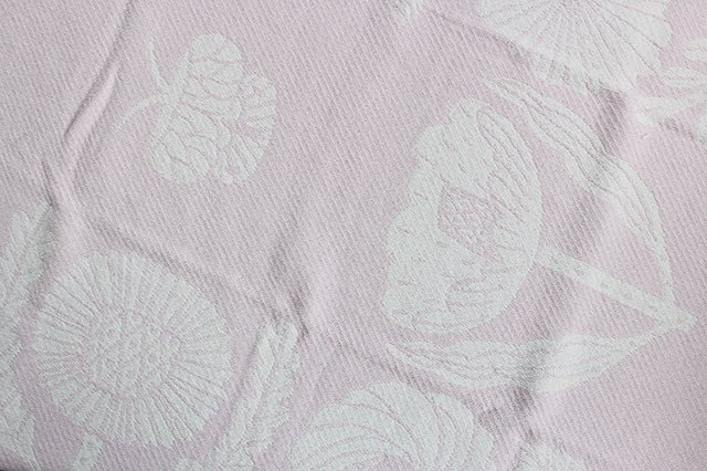 LAPUAN KANKURIT(ラプアン カンクリ)× 鹿児島睦  コットンブランケット white-rosa 90×140cm 画像3