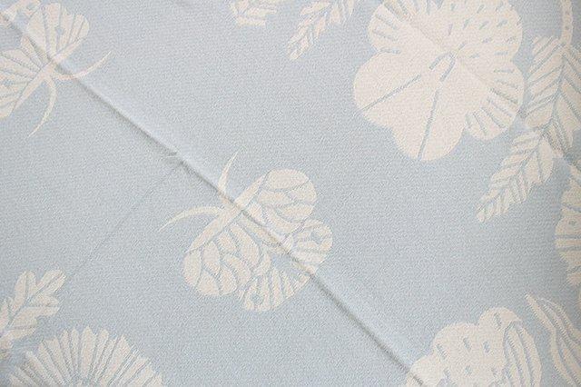 LAPUAN KANKURIT(ラプアン カンクリ)× 鹿児島睦  コットンブランケット white-blue 140×180cm 画像2