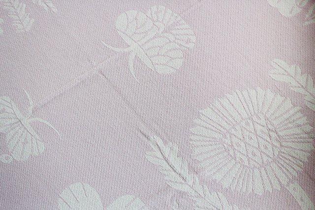 LAPUAN KANKURIT(ラプアン カンクリ)× 鹿児島睦  コットンブランケット white-rosa 140×180cm 画像2