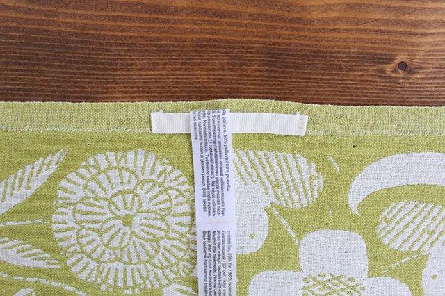 LAPUAN KANKURIT(ラプアン カンクリ)× 鹿児島睦  キッチンタオル  white-green 48×70cm 画像3
