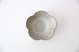 小皿 梅 グレーマット 陶器 たくまポタリー商品画像