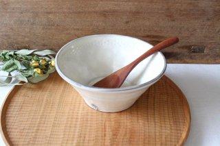 粉引5寸鉢 陶器 中野明彦商品画像