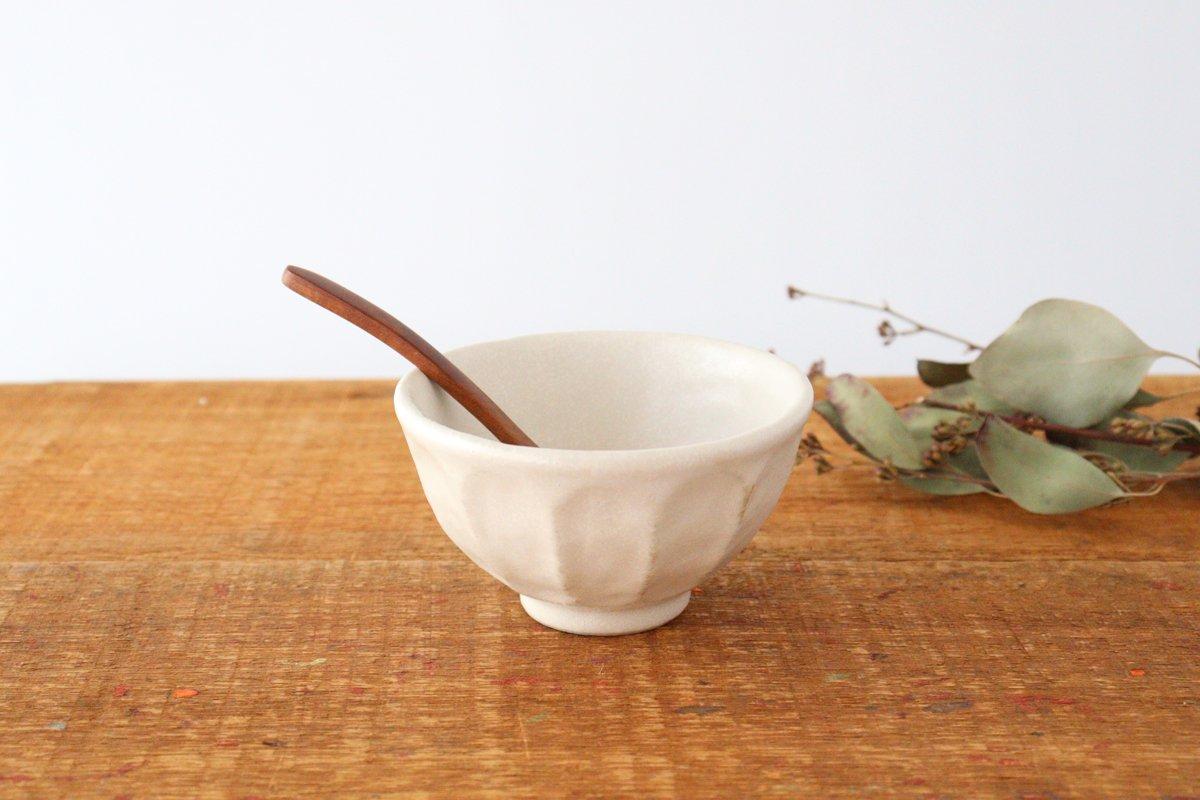 美濃焼 菊花 飯碗 磁器 画像4