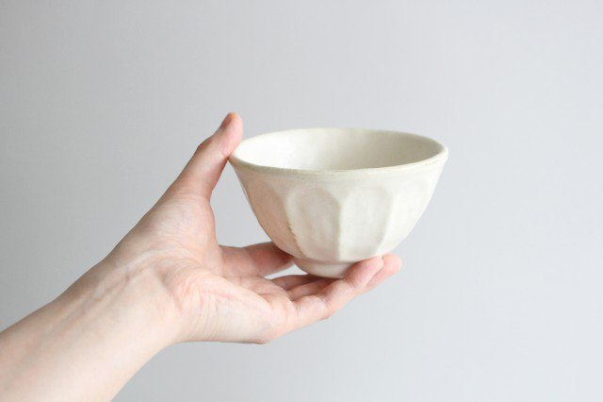 美濃焼 菊花 飯碗 磁器 画像6