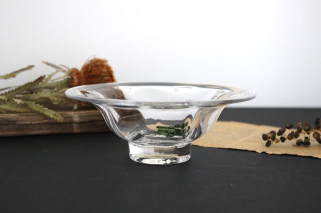 mo-ru 浅鉢 ガラス 8823/glass work 沖澤康平