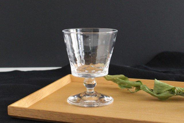 ワイングラス S ガラス 8823/glass work 沖澤康平
