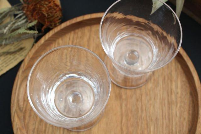 ワイングラス S ガラス 8823/glass work 沖澤康平 画像3