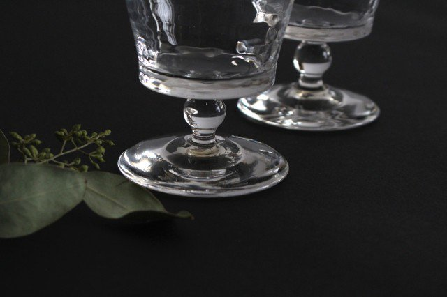 ワイングラス S ガラス 8823/glass work 沖澤康平 画像4