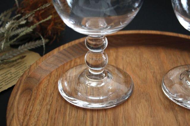 ワイングラス L ガラス 8823/glass work 沖澤康平 画像2