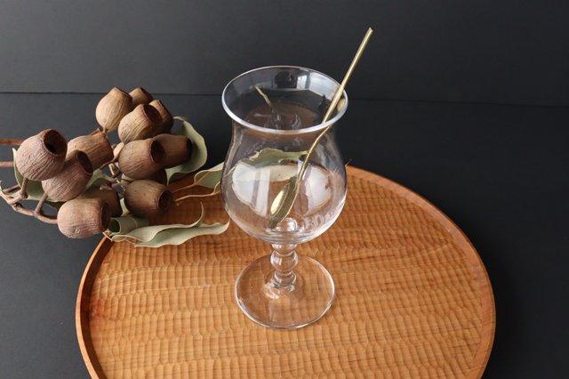 ワイングラス L ガラス 8823/glass work 沖澤康平 画像5