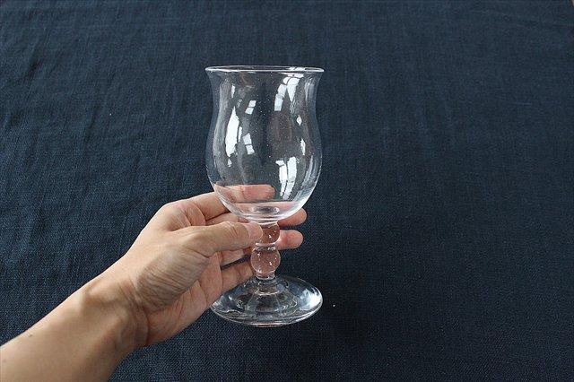 ワイングラス L ガラス 8823/glass work 沖澤康平 画像6