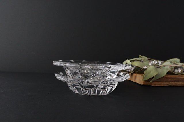 リンカ 皿 ガラス 8823/glass work 沖澤康平 画像3