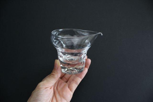ライト 片口 S ガラス 8823/glass work 沖澤康平 画像4